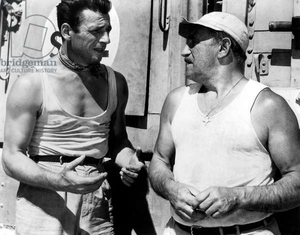 Le Salaire de la peur de HenriGeorgesClouzot avec Yves Montand et Charles Vanel 1953 (Palmed'or1953)
