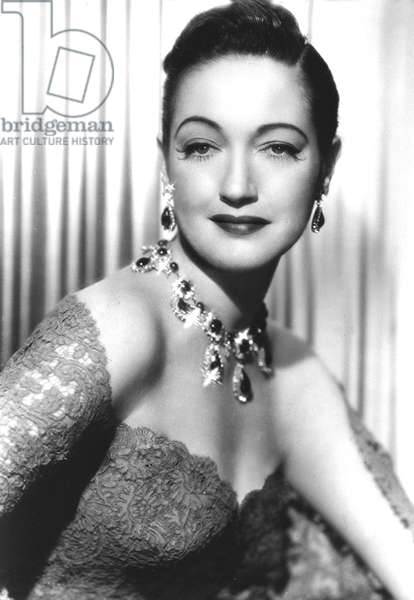 American Actress Dorothy Lamour (1914-1996) c; 1940