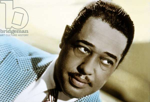 Duke Ellington, born Edward Kennedy Ellington (1899 - 1974), American jazz piano player, composer and conductor.