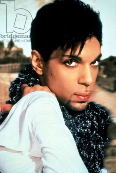 American Singer Prince (Prince Rogers Nelson) c. 1995