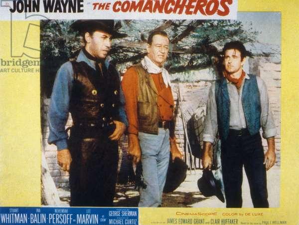 Les Comancheros THE COMANCHEROS de Michael Curtiz et John Wayne avec John Wayne, 1961