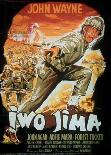 Affiche du film Iwo Jima de AllanDwan avec John Wayne 1949