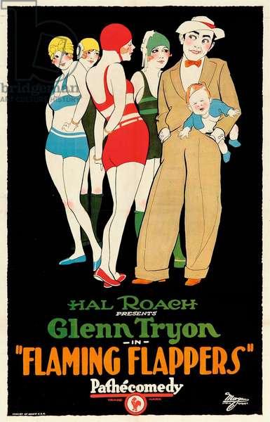 THE FLAMING FLAPPER de FredGuiol avec Glenn Tryon, 1923