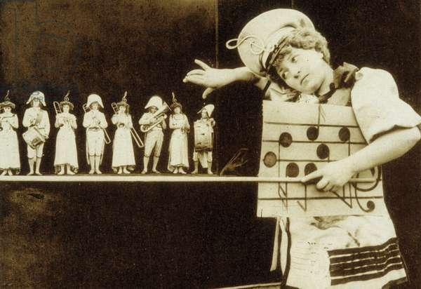 Lecon de solfege - Zecca 1904