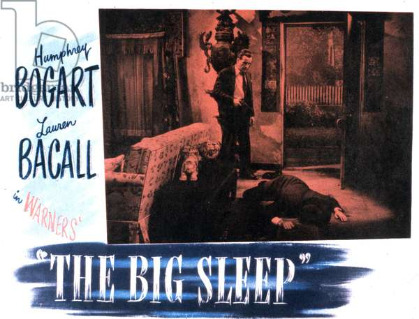 BIG SLEEP de Howard Hawks avec Humphrey Bogart 1946