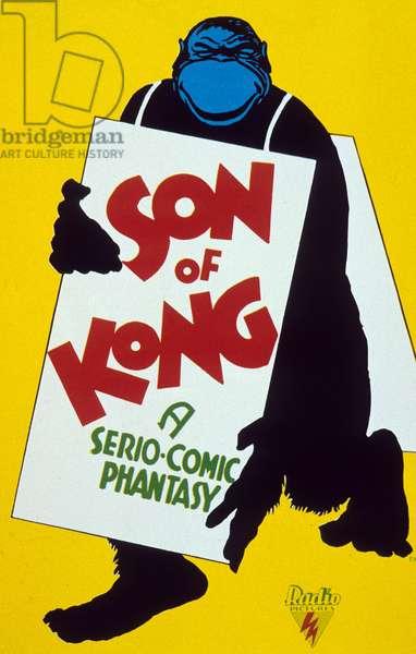Affiche du film Son of Kong (le fils de King  Kong) de ErnestB.Schoedsack 1933