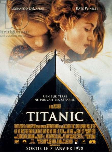 Titanic de JamesCameron avec Kate Winslet, Leonardo DiCaprio, 1997