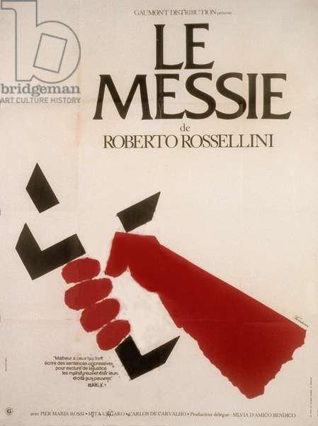 Affiche du film Le Messie de Roberto Rossellini, 1975.