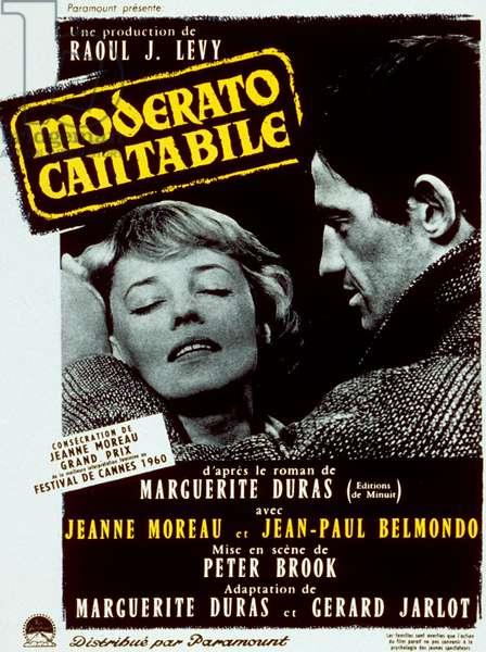 Moderato Cantabile SEVEN DAYS... SEVEN NIGHTS de PeterBrook avec Jeanne Moreau et Jean-Paul Belmondo, 1960