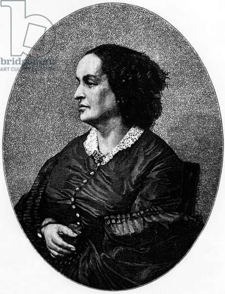 Adele Foucher (1803-1868) Victor Hugo's wife, c. 1854