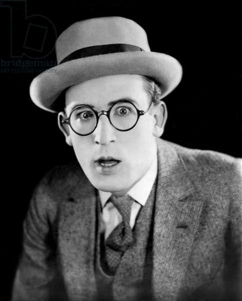 Harold Lloyd (1893-1971) American Actor, c. 1924