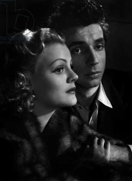 Les portes de la nuit de MarcelCarne avec Nathalie Nattier et Yves Montand 1946