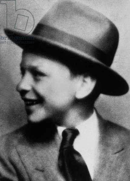 Franck Sinatra in 1930