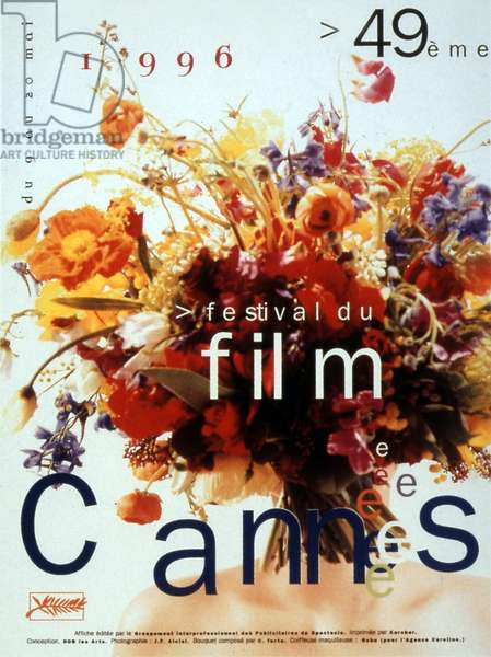 Poster of the 49th Cannes International Film Festival in 1996