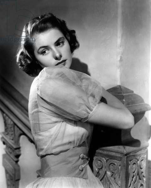 Actress Ingrid Bergman (1917-1982) c. 1939