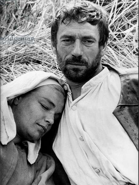 'The Crucible', starring Simone Signoret and Yves Montand, 1957 (b/w photo)