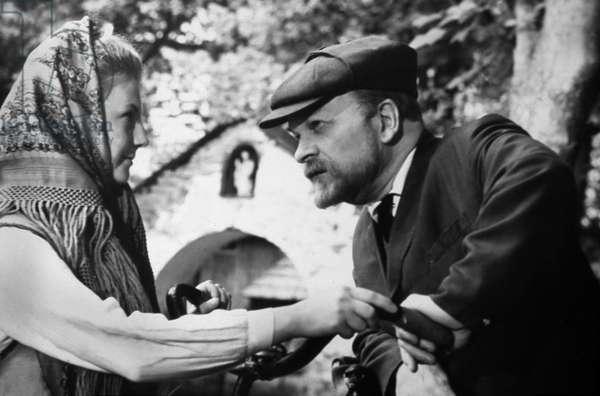 Lenine en Pologne Lenin in Poland de SergeiYutkevich avec Maksim Shtraukh et Anna Lisyanskaya 1966