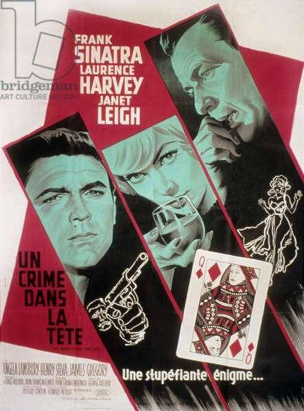 Un crime dans la tete THE MANCHURIAN CANDIDATE de JohnFrankenheimer avec Janet Leigh et Frank Sinatra 1962