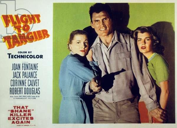 Vol sur Tanger Flight to Tangier de CharlesMarquisWarren avec Joan Fontaine Corinne Calvet et Jack Palance 1953