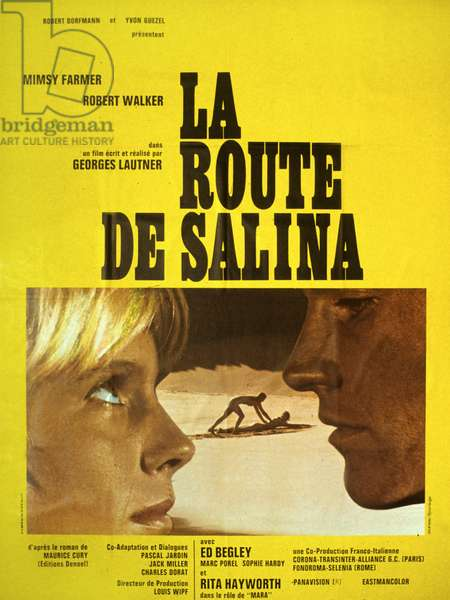 La route de salina Road to Salina de GeorgesLautner avec Mimsy Farmer et Robert Walker Jr 1970