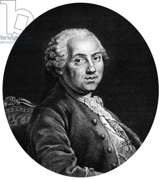 Louis, Dauphin of France (1729-1765) eldest son of French King  Louis XV, engraving
