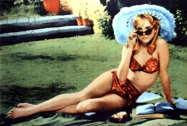 Lolita de StanleyKubrick avec Sue Lyon 1962