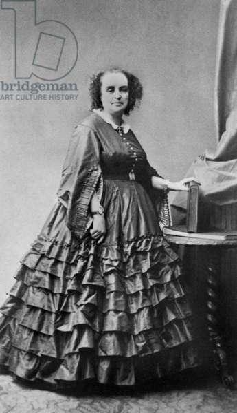 Adele Foucher (1803-1868), wife of Victor Hugo c. 1860