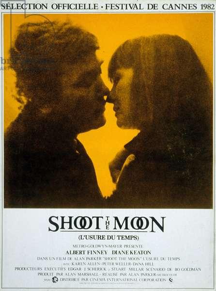 L'Usure du Temps SHOOT THE MOON de AlanParker avec Albert Finney, Diane Keaton, 1982