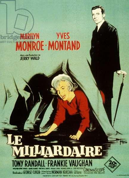 Le Milliardaire Let's Make Love de GeorgeCukor avec Marilyn Monroe et Yves Montand 1960