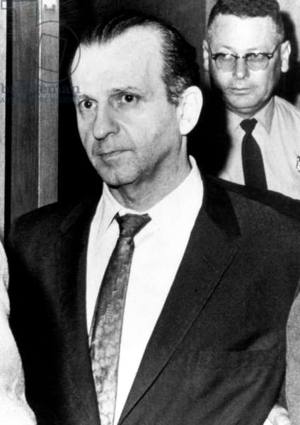 Jack Ruby, murderer of Lee Harvey Oswald (murdere ofJFK) on 24 novembre 1963