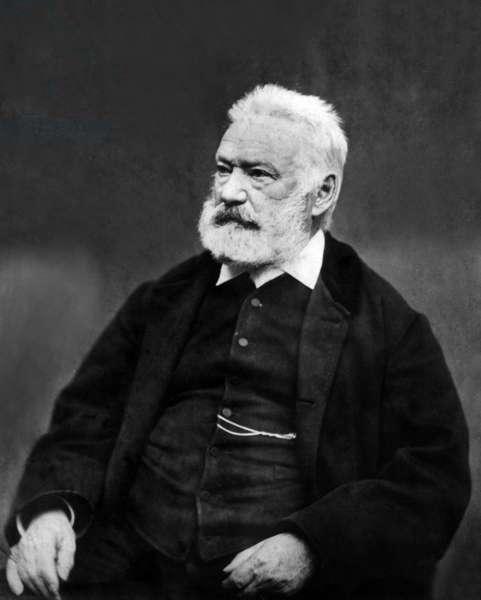 Victor Hugo (1802-1885) French poet and novelist, c. 1880