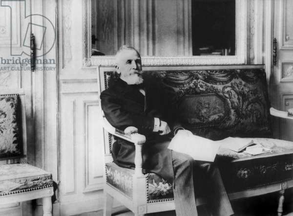 Emile Loubet (1838-1929) French President in 1899-1906
