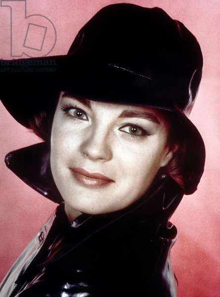 Romy Schneider (née Rosemarie Magdalena Albach, 1938 - 1982), actrice franco-allemande.