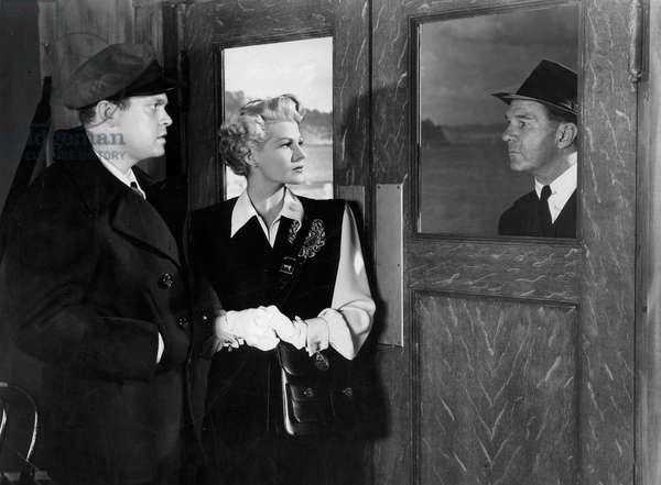 La Dame de Shanghai The Lady from Shanghai de OrsonWelles avec Rita Hayworth et Orson Welles 1948