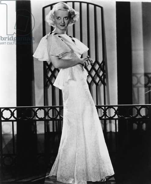 Actrice américaine Bette Davis (1908-1989) c. 1935