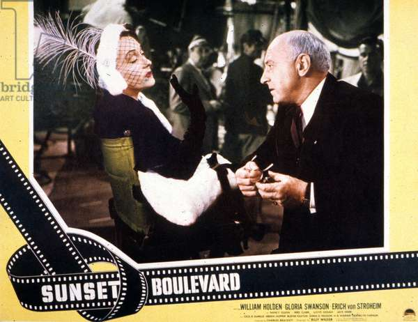Sunset Boulevard de Billy Wilder avec Gloria Swanson Cecil B.