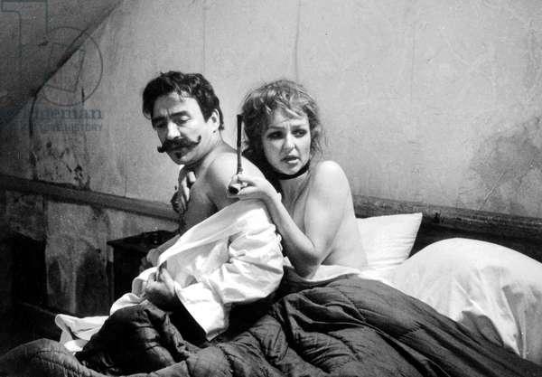 Guy de Maupassant de MichelDrach avec Claude Brasseur (Guy de Maupassant) et Catherine Frot le 14 Avril 1982