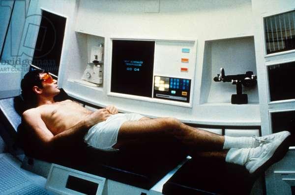 2001 l'Odyssee de l'Espace 2001 A Space Odyssey de Stanley Kubrick avec Keir Dullea et l'ordinateur HAL 1968