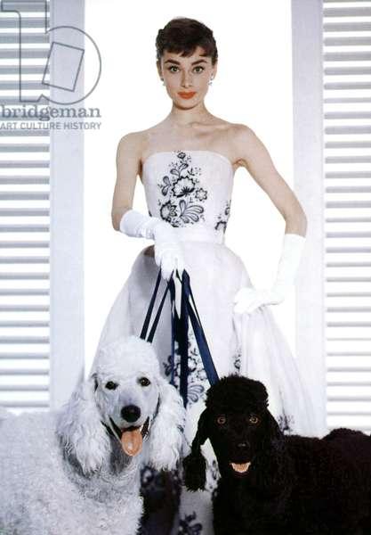 SABRINA de BillyWilder avec Audrey Hepburn (robe bustier Givenchy), 1954