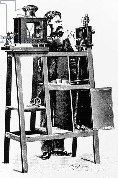 Light projector 1896