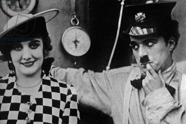 Charlot Pompier The Fireman The Fiery Circle aka A Gallant Fireman de et avec Charlie Chaplin 1916