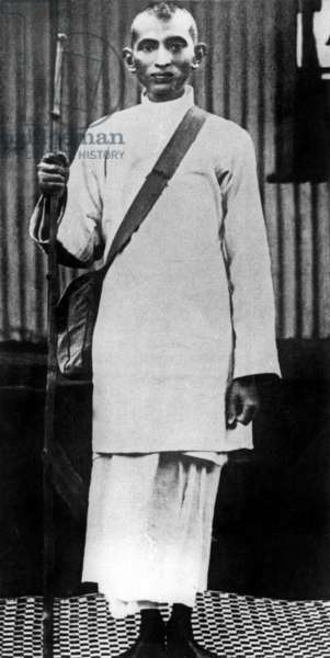 Gandhi (1869-1948) here in South Africa c. 1905