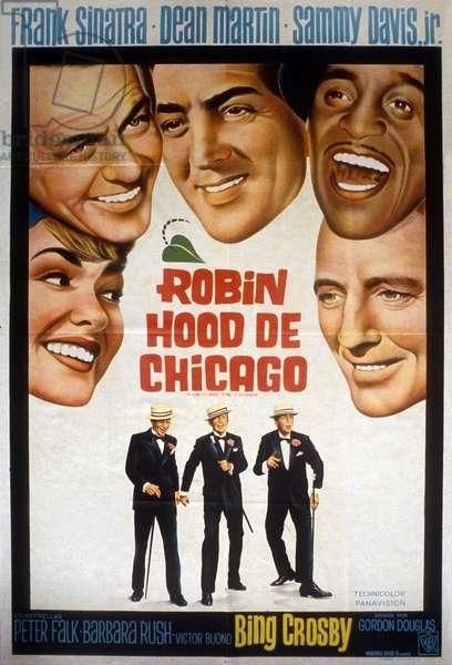 Les sept voleurs de Chicago ROBIN AND THE 7 HOODS de Gordon Douglas avec Dean Martin Sammy Davis Jr. et Frank Sinatra 1964