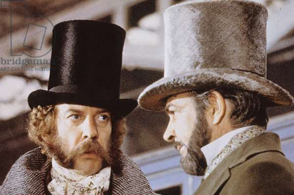 La grande attaque du train d'or The First Great Train Robbery de MichaelCrichton avec Donald Sutherland et Sean Connery 1979