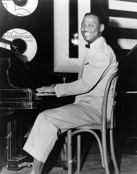 Earl Hines (1903-1983) jazz pianist c. 1940