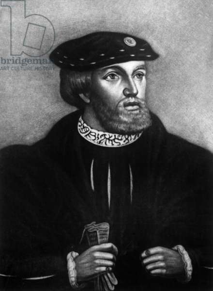 Edward Stafford 3rd Duke of Buckingham (1478 1521) founder of the Magdalen College at Cambridge decapited for treason in 1521 (engraving)