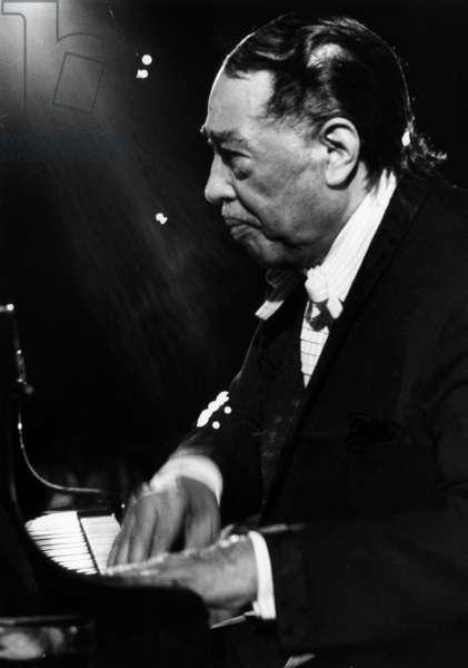 Duke Ellington at the Jazz Festival of Montreux, Swiss, jully 1970