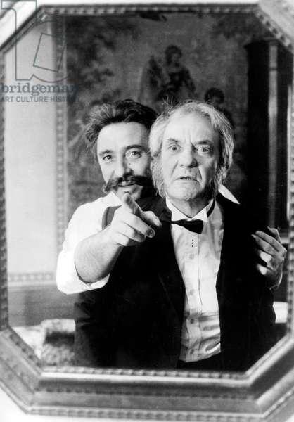 Guy de Maupassant de MichelDrach avec Claude Brasseur (Guy de Maupassant) et Jean Carmet le 14 avril 1982