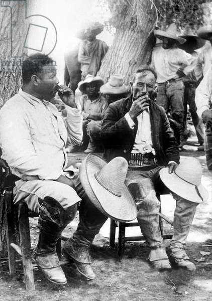 The Mexican Revolution Pancho Villa (l, 1878-1923) General of the Division del Norte of the Mexican Army c. 1911