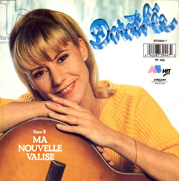 Record sleeve of French Singer Dorothee